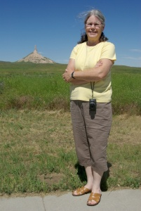 At Chimney Rock, Nebraska, 2014