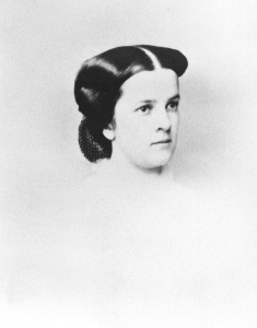 A young portrait of Annie Ellicott Kennedy.