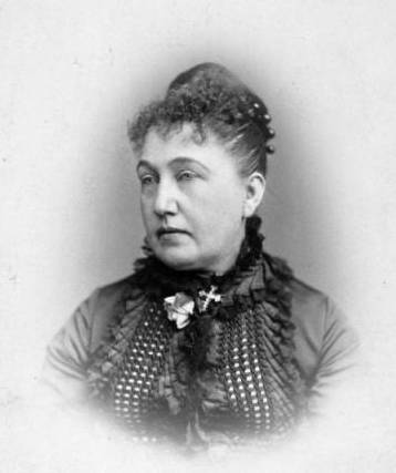 Mary Helen Crosby Hensley in 1871.