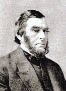 Captain William Whitfield of New Bedford, Massachusetts, looking every inch the whaling ship captain.
