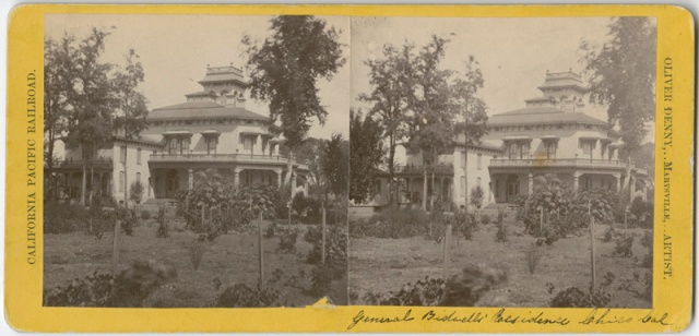 Bidwell Mansion 3 stereo
