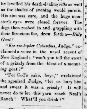Issue Date DECEMBER 23 1854 page 2 bear story2