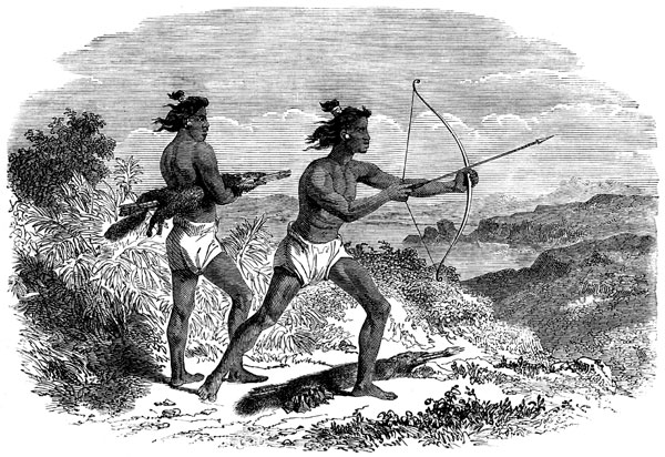 california-indians-hunting