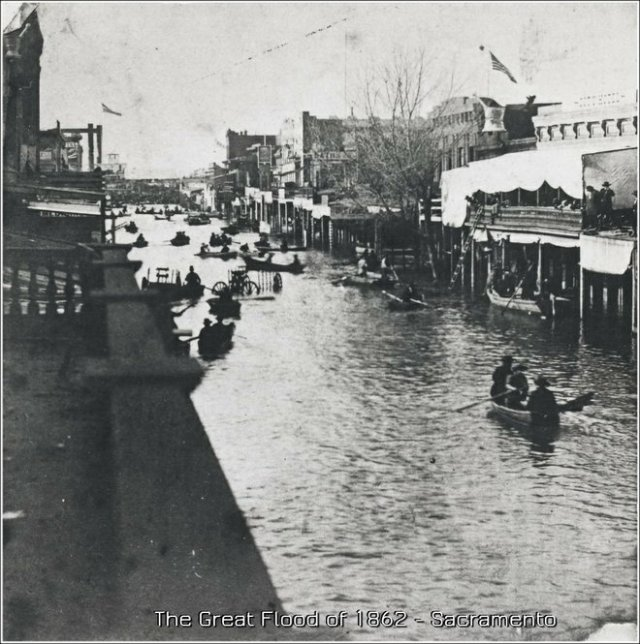 Great Flood 1832 - Sacramento