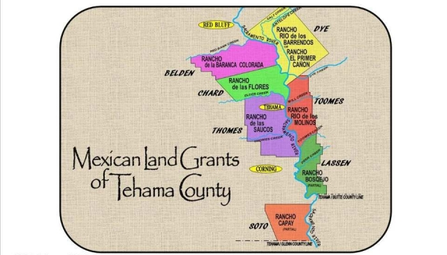 tehama land grants