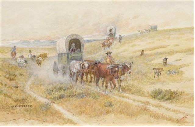 wagon train seltzer